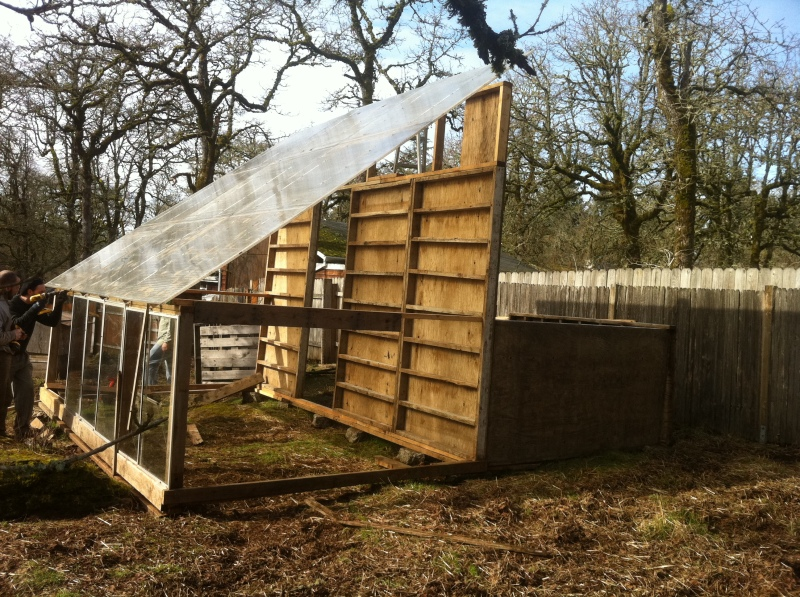 plans for wood frame greenhouse
